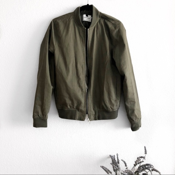 Topshop Jackets Coats Topman Bomber Jacket Poshmark